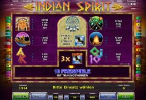 indian spirit online spielen