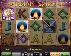 indian spirit spiel