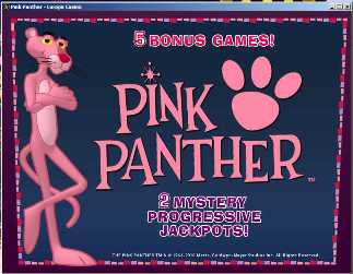 Pink Panther spielautomat